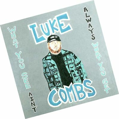 LUKE COMBS - NEW CD - What You See Ain