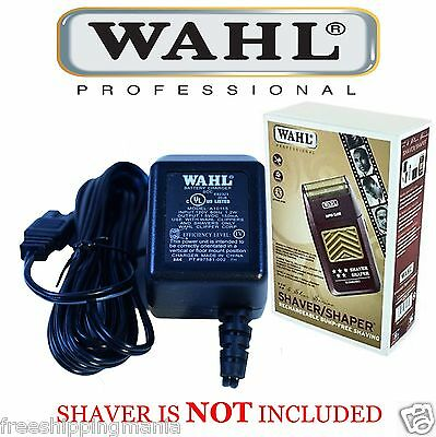 POWER CHARGING/CHARGER ADAPTER for WAHL 5 STAR SHAVER SHAPER #8547 for sale  Randallstown