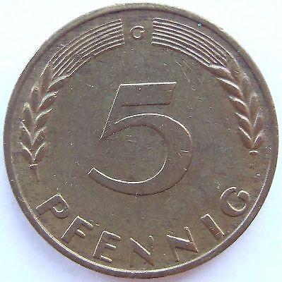 TOP! 5 Pf 1967 G in SEHR SCHÖN / VORZÜGLICH !!!