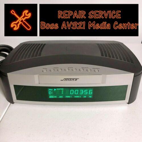 👨🔧REPAIR SERVICE for Bose AV321 Media Center (AV 3-2-1 Series I)-DVD Tray Fix