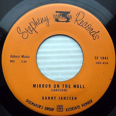 Danny Janssen W Group Orig Stepheny Doowop 45 Mirror On The Wall   Blue Moon F49