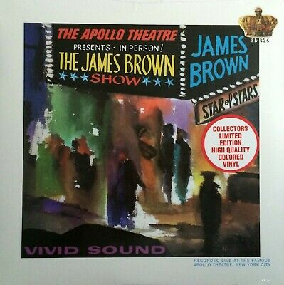 James Brown & The Famosos Flames Live At Apollo Polydor Sellado Coloreado Vinilo segunda mano  Embacar hacia Spain
