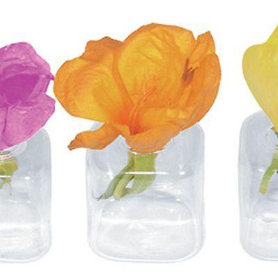 12 x Tischvase für Blütenköpfe Tischdekoration Hochzeit Fest Blumenvase