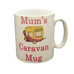 CARAVAN MOTORHOME MUG COFFEE CUP TEA MUGS GIFT NOVELTY SET NEW CAMPING