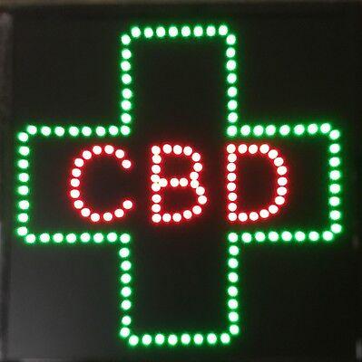 Cbd For Business Led Neon Signsmoke Shopwindow Store Sign Display 20 X 20w