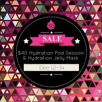 Sale! Hydrate Pod & Hydration Jelly Mask