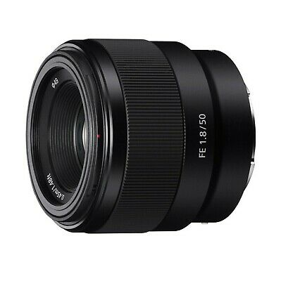 Sony FE 50mm f/1.8 Lens SEL50F18F for Sel DSLR Cameras: Lightweight & Compact