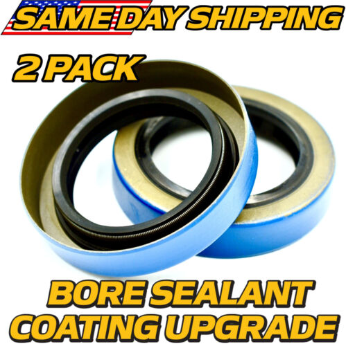 """(2 Pack) Grease Seal Replaces GS-1719DL TRP 1.719"""" ID, 2.565"""" OD w/BORE SEALANT"""