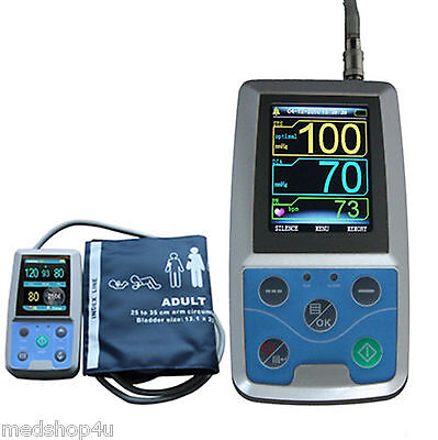 24h Nibp Holter Ambulatory Blood Pressure Monitor Abpm50 Usa Fda Ce
