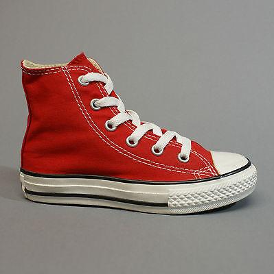 Converse All Star Chuck Youth Red Hi 3J232 Kinderschuhe Sneaker rot Gr. 28,5