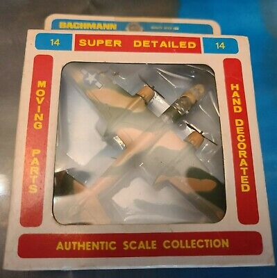 Vintage 1970's Unopened Bachmann Mitchell Bomber B-25 14 Airplane