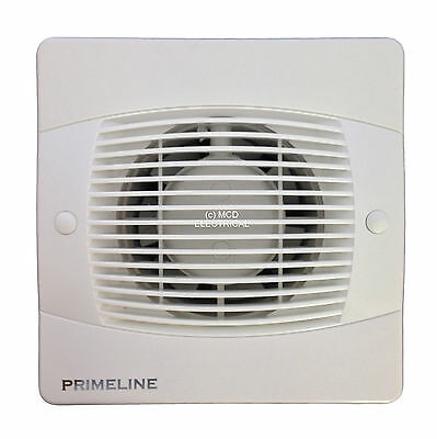 "Primeline/Manrose PEF4020 Timer Extractor Fan for 100mm/4"" duct"