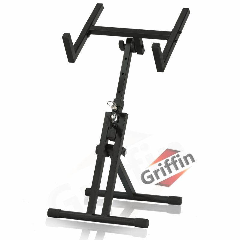 Guitar Combo Amp Floor Stand PA Tilt Back Amplifier Speaker Monitor Holder Mount