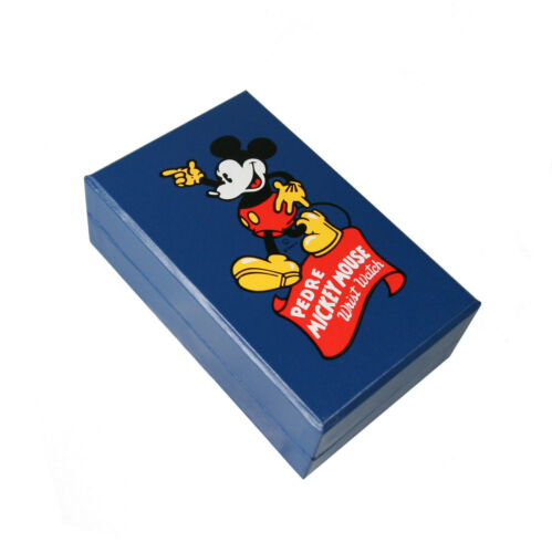 Pedre Mickey Mouse Wrist Watch Blue Box ONLY. Mint.