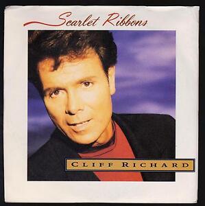 CLIFF-RICHARD-DISCO-45-GIRI-SCARLET-RIBBONS-B-W-MISS-YOU-NIGHTS-LIVE-EMI