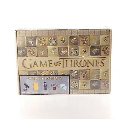 Game of Thrones Collectors Box Culturefly 5 items inside NEW