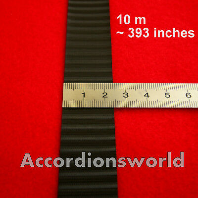 60 x 6cm x 4,5 cm Akkordeon Bass-Handriemen,Leder-Velour accordion bass belts