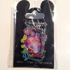 Disneyland Paris Disney Dreams Rapunzel Pin Limited Edition