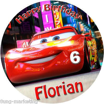 naufleger Disney Pixar Cars Geburtstag Tortenbild (87) (Cars Geburtstag)