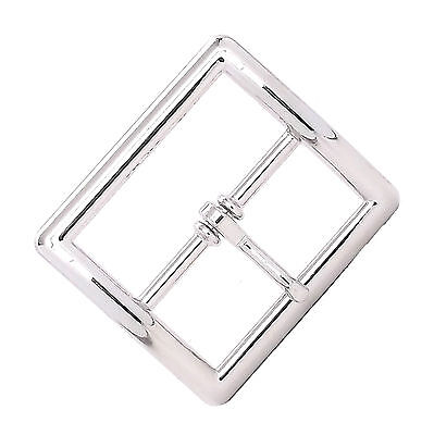 Center Bar Buckle Square 1-3/4