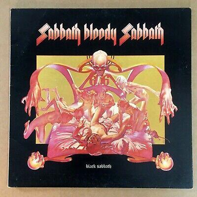 BLACK SABBATH ~ Sabbath Bloody Sabbath ~ UK 1st press WWA 005 LP EX+