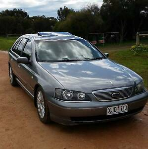 2003 BA G220 V8 Ford Fairlane Ghia Sedan Two Wells Mallala Area Preview