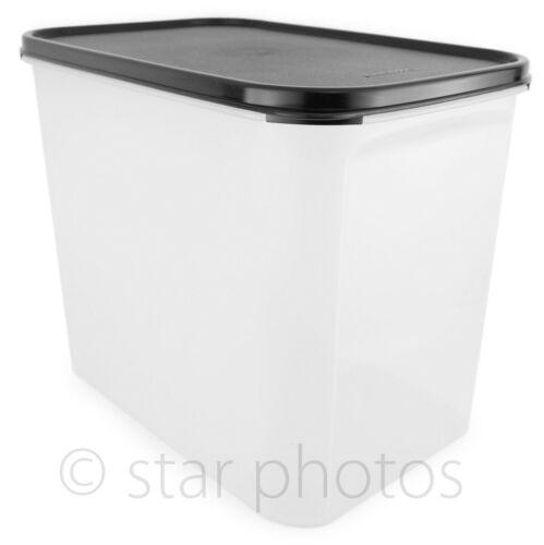 Tupperware Modular Mates 37 Cup Rectangular #4 Container w/ Black Seal - New!