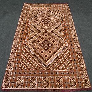 Orient-Teppich-Berber-Kelim-Kilim-227-x-128-cm-Handgewebt-Carpet-Rug-Hand-Woven