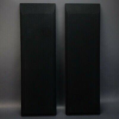 Pair (2) of Thiel CS1.5 Black Speaker Grills NEW Old Stock!  for sale  Shipping to South Africa