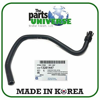 CRUZE 1.4 COOLANT BYPASS HOSE FROM OUTLET TO RESERVOIR 2011-2016 13251447