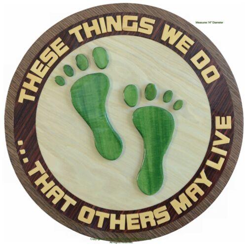 AIR FORCE PARARESCUE JOLLY GREEN FEET - CSAR - PJ - Handcrafted Wood Art Plaque