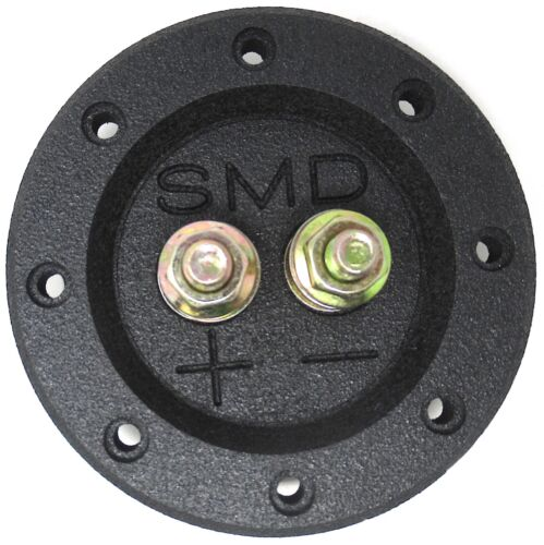 Steve Meade SMD Single Box Terminals Heavy Duty Grade 8 Hardware PVC Black