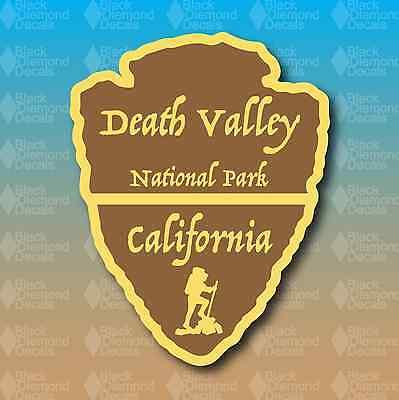 Death Valley National Park California Arrowhead 5  Custom Vinyl Decal Sticker