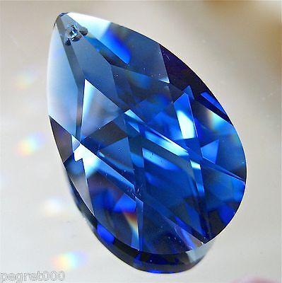 6e8db02c1 Swarovski Dark Sapphire Cobalt Blue Teardrop Prism Ornament Suncatcher, 38m  logo