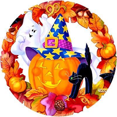 Bild Halloween (20 und 28 cm runder Tortenaufleger Tortenbild Fototorte Zuckerbild)