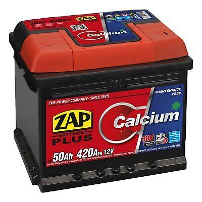 Starterbatterie 12V 50Ah 420A | für VW GOLF 4 FORD FIESTA VI RENAULT TWINGO I