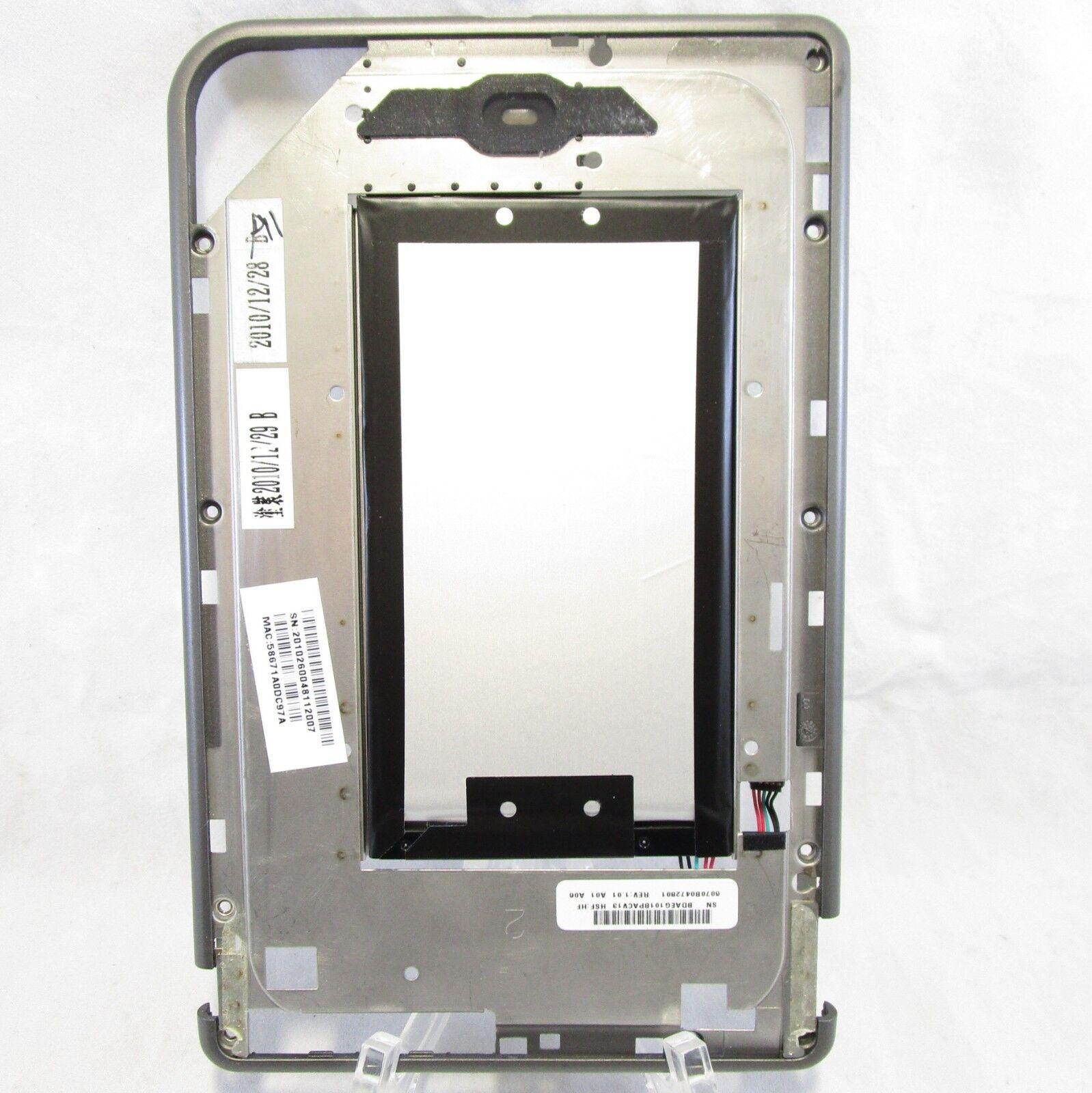Barnes & Noble Nook Color eReader BNRV200  - Midframe & battery Replacement