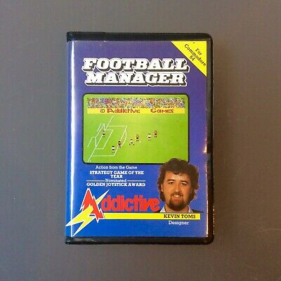 FOOTBALL MANAGER - Addictive games - Commodore 64 / C64 -Football game - Boxed