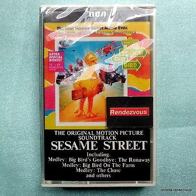 Sesame Street Follow That Bird Soundtrack Cassette Tape *NEW RARE 1985 Rca Big B