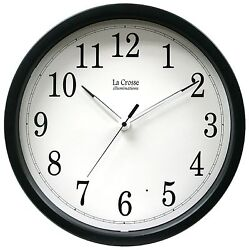 403-314 La Crosse Illuminations 14 Analog Wall Clock with Glowing Hands