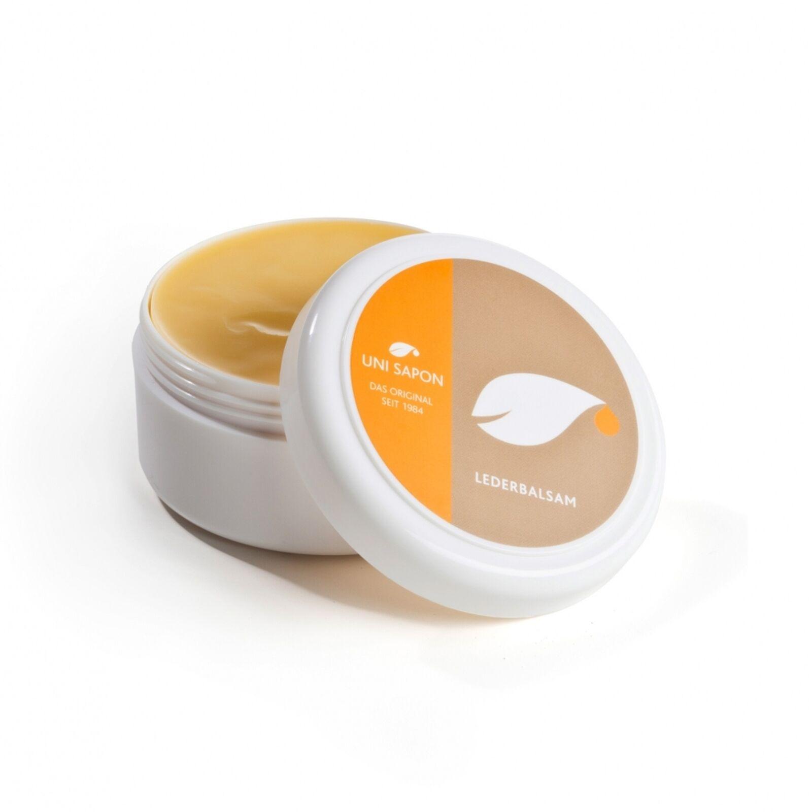BIO Lederbalsam - Lederpflege von Uni Sapon - für Natur und Kunstleder - 200 ml