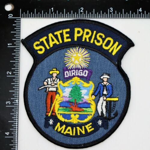 MAINE STATE PRISON PATCH Vintage Original
