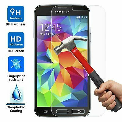 Ultra Slim Premium HD Tempered Glass Screen Protector for Samsung Galaxy S5 Cell Phone Accessories