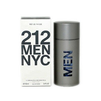 Carolina Herrera 212 Men Nyc Eau De Toilette Spray 100 Ml 3 4 Oz   T 65114528
