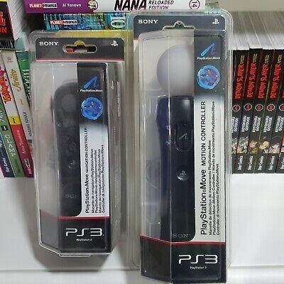 PLAYSTATION MOVE MOTION CONTROL + CONTROLLER NAVIGAZIONE PS3 PS4 NUOVI SIGILLATI