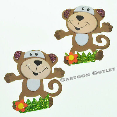 Monkey Baby Shower Decorations (12 BABY SHOWER MONKEY FAVORS 2.5