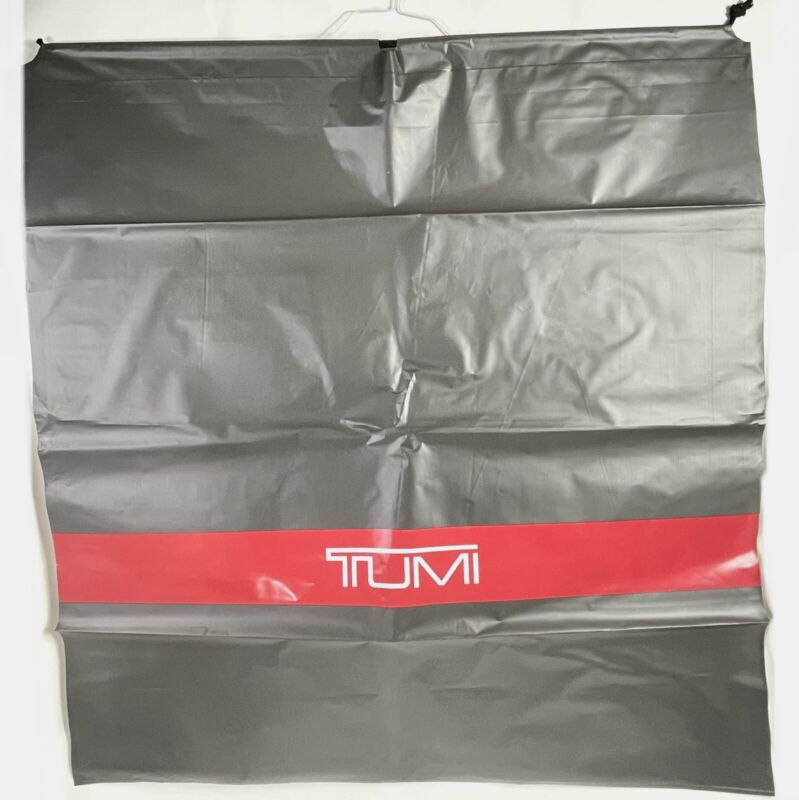 "Huge Extra Large 38""x40"" Plastic Drawsting Bag Cover for Tumi Luggage/Suitcase"