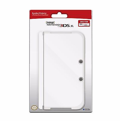 SHELL COVER CASE CLEAR DURAFLEXI FOR THE NEW NINTENDO 3DS XL LL BY (HORI)