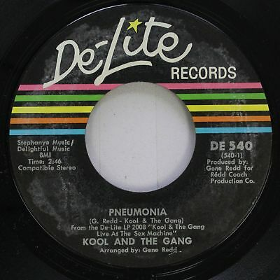 Soul 45 Kool And The Gang   Pneumonia   I Want To Take You Higher On De Lite Rec