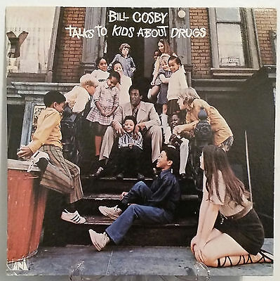 Bill Cosby Talks to Kids About Drugs vinyl LP